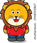 vector lion  perfect for icons... | Shutterstock .eps vector #1948552867