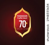 Ramadan Flash Sale Vector...