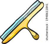 glass scraper icon in color... | Shutterstock .eps vector #1948611841