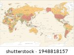world map   pacific china asia... | Shutterstock .eps vector #1948818157