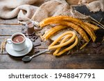 Churros Typical Of Spain....