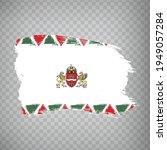 flag of budapest brush strokes. ...