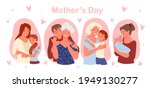 happy mothers day concept with... | Shutterstock .eps vector #1949130277