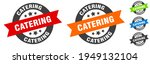 catering stamp. catering round... | Shutterstock .eps vector #1949132104