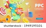 3dvector conceptual... | Shutterstock .eps vector #1949195101