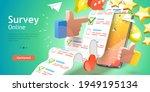 3d vector conceptual... | Shutterstock .eps vector #1949195134
