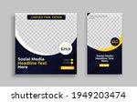set of editable minimal square...   Shutterstock .eps vector #1949203474