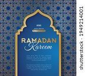 ramadan kareem concept poster ... | Shutterstock .eps vector #1949214001