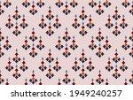 beautiful ethnic abstract ikat...   Shutterstock .eps vector #1949240257