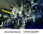 industrial steel pipelines and... | Shutterstock . vector #194926049