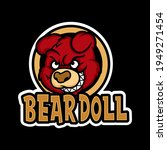 Awesome Baby Bear Doll Mascot