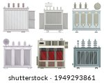 transformer electric vector... | Shutterstock .eps vector #1949293861