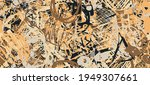 sketch draw backdrop material.... | Shutterstock .eps vector #1949307661