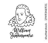 william shakespeare linear... | Shutterstock .eps vector #1949346931