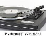 vinyl player arm on white... | Shutterstock . vector #194936444