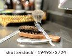 Shaving Set  Razor  Brush And...