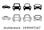 car icon set. car vector icon....