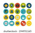 flat icons set 25   business...