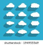 flat design cloudscapes...