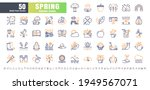 64x64 pixel perfect. spring... | Shutterstock .eps vector #1949567071