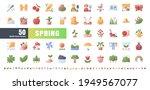 64x64 pixel perfect. spring... | Shutterstock .eps vector #1949567077