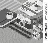 3d illustration. street... | Shutterstock .eps vector #1949597011