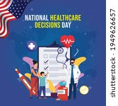 national healthcare decisions... | Shutterstock .eps vector #1949626657