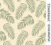 tropical seamless pattern ... | Shutterstock . vector #1949644411