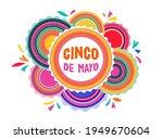 cinco de mayo   may 5  federal... | Shutterstock .eps vector #1949670604