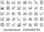 bitcoin chart icons set.... | Shutterstock .eps vector #1949685781