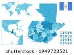 guatemala detailed... | Shutterstock .eps vector #1949723521