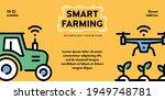vector smart farming icon... | Shutterstock .eps vector #1949748781