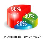 the 50 30 20 rule diagram  ...   Shutterstock .eps vector #1949774137