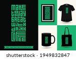 quote inspiration tshirt make... | Shutterstock .eps vector #1949832847