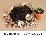 Organic Waste  Heap Of...