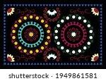 oriental pattern floral suzani...   Shutterstock .eps vector #1949861581
