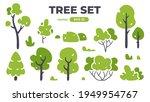 trees set. plants isolated.... | Shutterstock .eps vector #1949954767