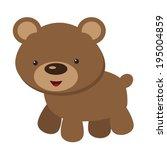 bear vector illustration | Shutterstock .eps vector #195004859