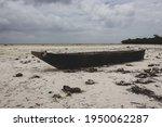 Wooden Boat On Low Tide....