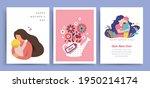 set of happy mother's day...   Shutterstock .eps vector #1950214174