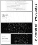 vector layout of headers ... | Shutterstock .eps vector #1950320581