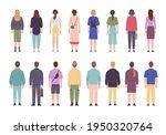men and women in different... | Shutterstock .eps vector #1950320764