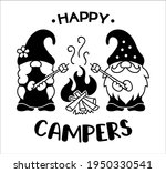 couple of cute gnomes near the... | Shutterstock .eps vector #1950330541