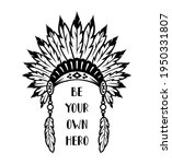 traditional native american... | Shutterstock .eps vector #1950331807