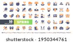 64x64 pixel perfect. spring... | Shutterstock .eps vector #1950344761