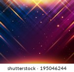 abstract striped background... | Shutterstock .eps vector #195046244