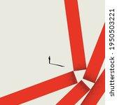 business overcoming challenges... | Shutterstock .eps vector #1950503221