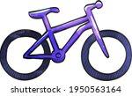 Mountain Bike Icon In...