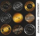 solomon islands business metal... | Shutterstock .eps vector #1950638587
