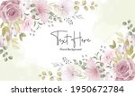 beautiful soft floral... | Shutterstock .eps vector #1950672784